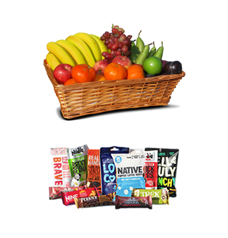 fruit and snack employee gifts